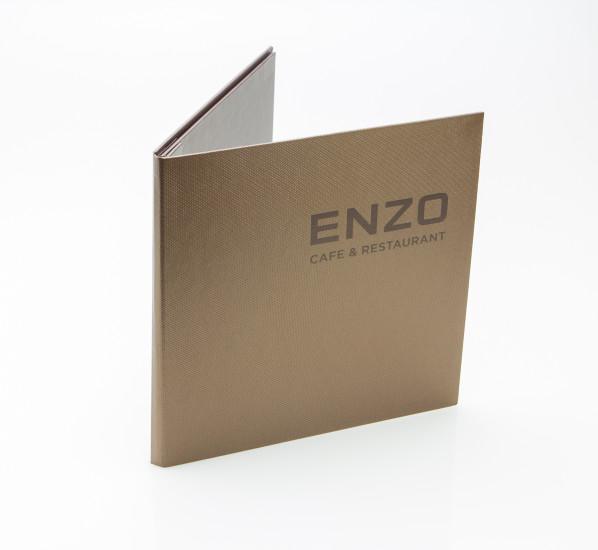 Папки для меню ресторана Enzo