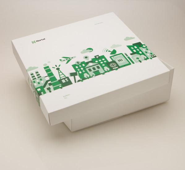 Подарочная коробочка Nortal