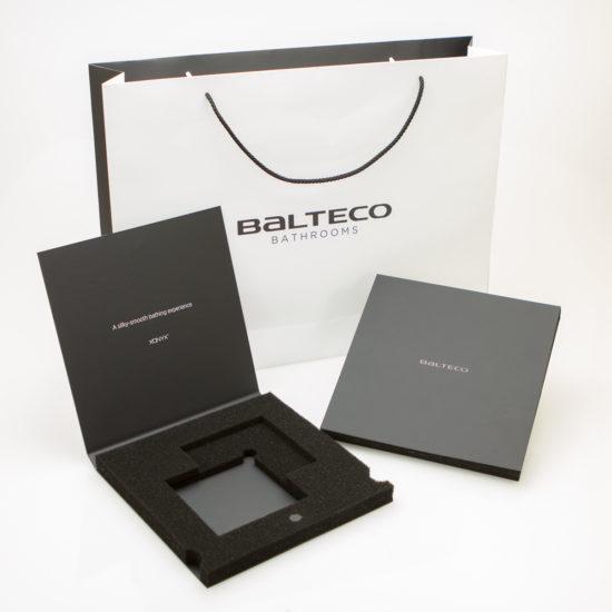Paperikassi ja rasia Balteco