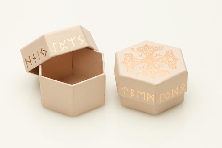 Шестигранная подарочная коробочка