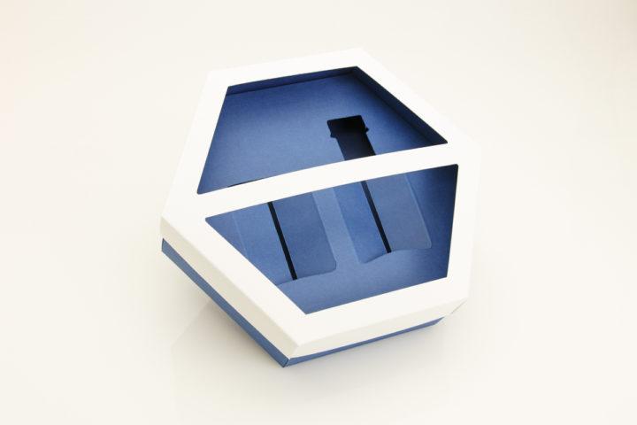 Шестиугольная подарочная коробочка